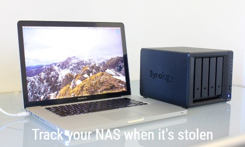 Track your (Synology) NAS when it's stolen | blog forret com